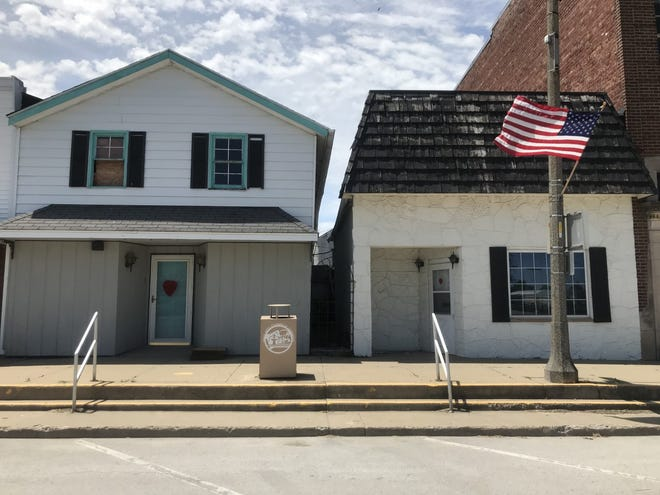 Building on South Exchange in Galva will soon be torn down
