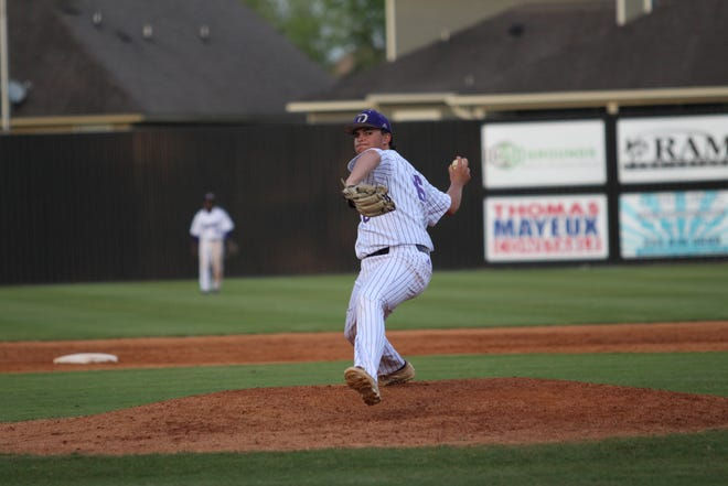 Dutchtown pitcher Nathan Monceaux was named the District 5-5A MVP.