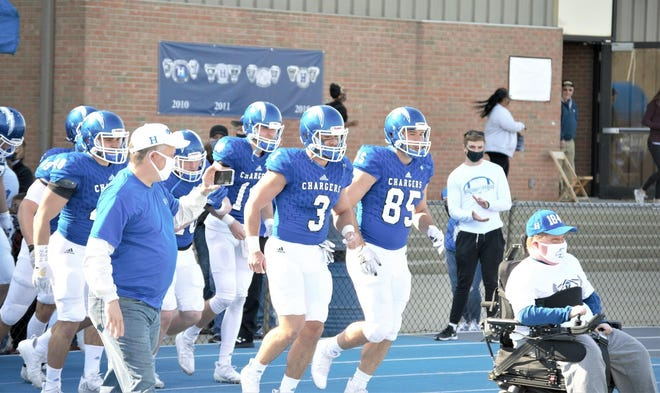 Hillsdale Charger Football team this past Spring.