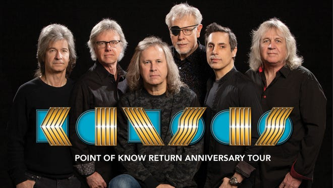 The classic rock band Kansas will return to the stage at the Zeiterion Performing Arts Center on Dec. 10.