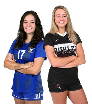Hutchinson's Jose Hallier and Buhler's Alexis Hutton are The Hutchinson News' All-Reno County Soccer Co-Players of the Year.