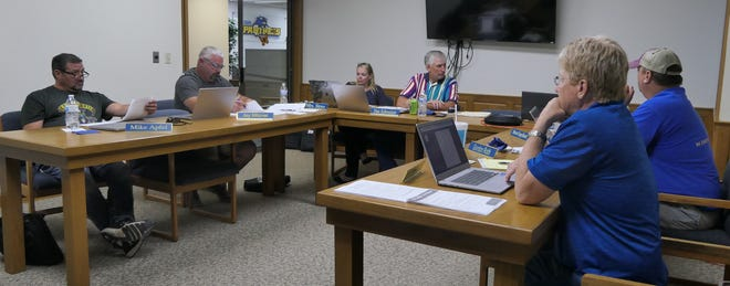 Nickerson Board of Education Meeting on June 12, 2021 at the district office board room.