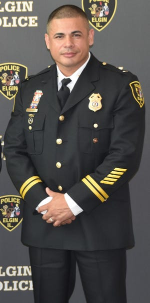 Peoria's new Chief of Police Eric P. Echevarria. Echevarria will start as Peoria's police chief Aug. 2 and will be paid a salary of $176,000.