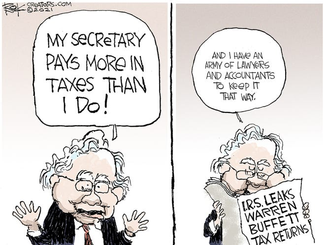 Today's editorial cartoon (June 16, 2021)