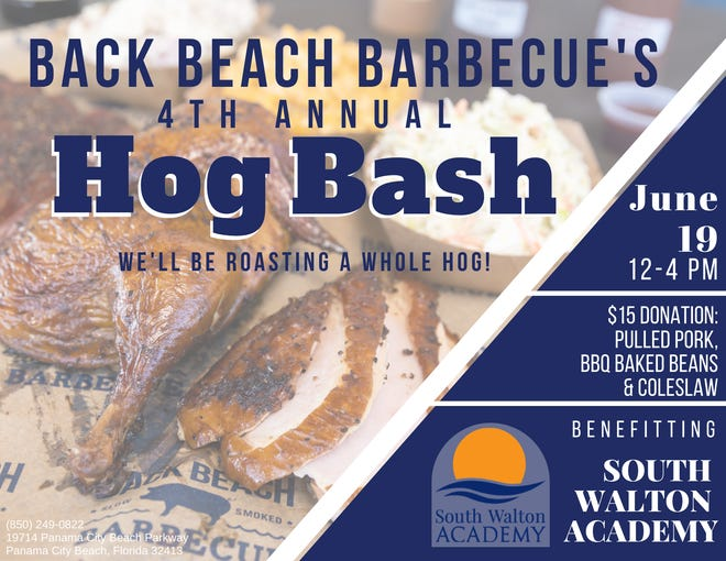 Back Beach Barbecue will celebrate four Years in Business with Annual Hog Bash June 19.