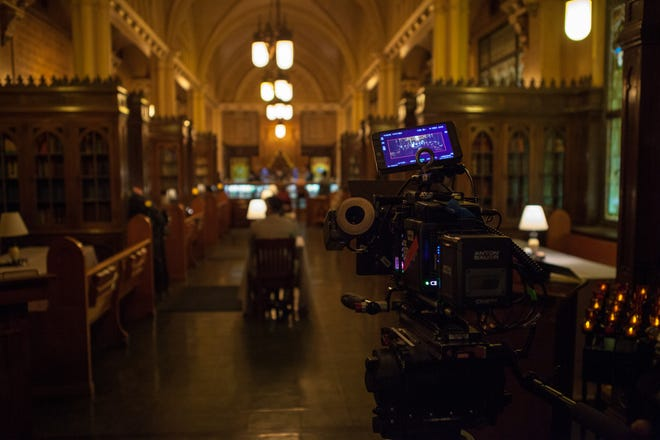Film and television industry is growing in Oklahoma.