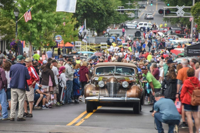 The Great Race along with Coker Tire is owned by Legendary Companies. The annual event, which pits vintage cars in a 10-day, cross-country endurance competition of time, speed, and distance, was started in 1983, vehicles are restricted to pre-1972 and usually includes vehicles from the early 1900s. (Kahn Media)