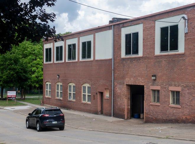 Former Oak Rubber factory, Spruce street.