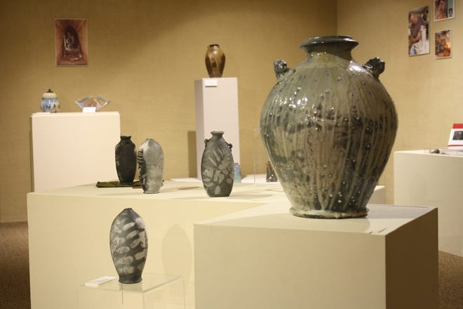"""The ceramics exhibit """"Michiana Masters Series III: Dick Lehman"""" continues through July 25 at the Midwest Museum of American Art in Elkhart."""