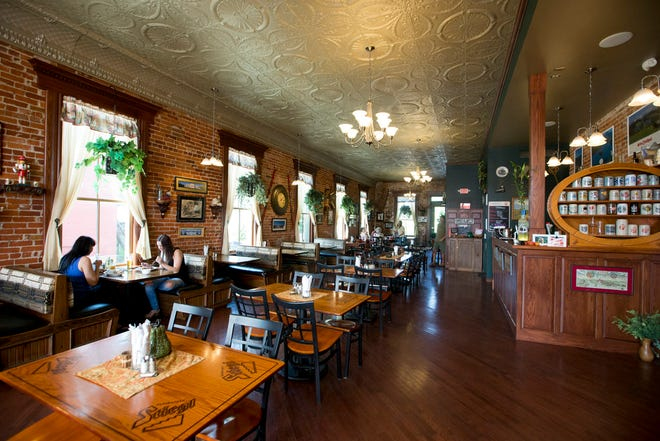 In this 2016 Tribune file photo, the downstairs of Moser's Austrian Cafe in New Carlisle.  Tribune Photo/ BECKY MALEWITZ