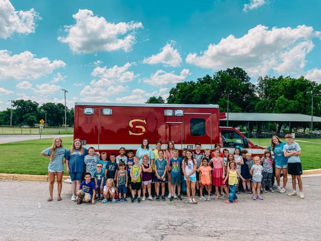 Stephenville Parks and Rec Department Summer Camp kids had a few special visitors on Tuesday. They enjoyed learning about what the Stephenville Fire Department does to keep the community safe. There may be some future first responders in the program after the visit.