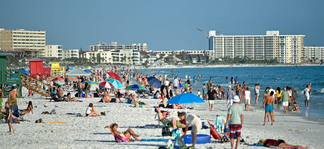 Sunbathing at world-famousSiesta Beachis definitely one of the 100 fun things to do in Sarasota County.