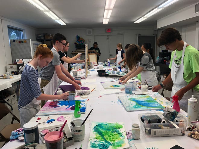 Art Center Sarasota's immersive summer sessions target two age groups: Creative Kids forages 6-10, and Emerging Arts for aspiring artistsages 11 to 15.
