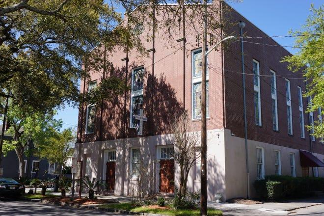 Second African Baptist Church located in Savannah, Georgia.