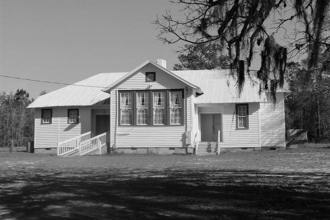 Canetuck, a Rosenwald School served Black students during the days of segregation. It will be one of many stops on a heritage trail being developed by the Pender Count tourism department. [COURTESY PHOTO]