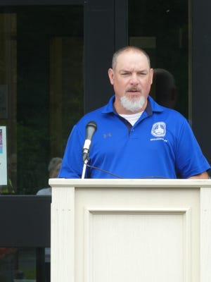 DPW Director Chris Peck talks about the new building.