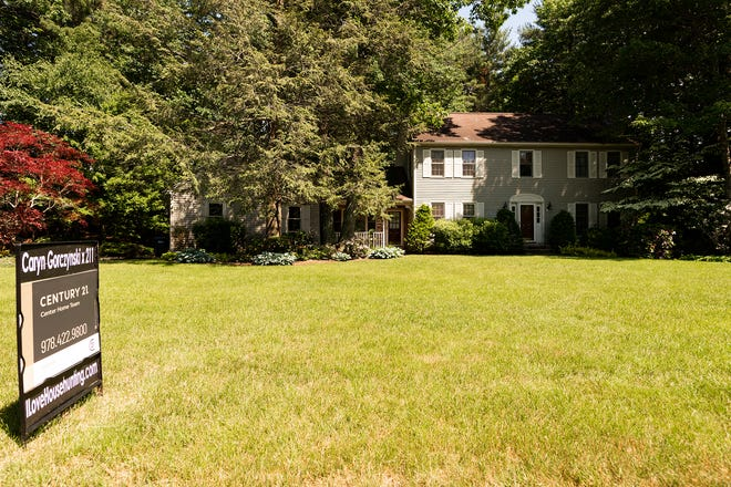 A house for sale at 293 Sycamore Drive in Holden. Many towns in Worcester County are seeing more action on the real estate market as residents look to move to the suburbs.