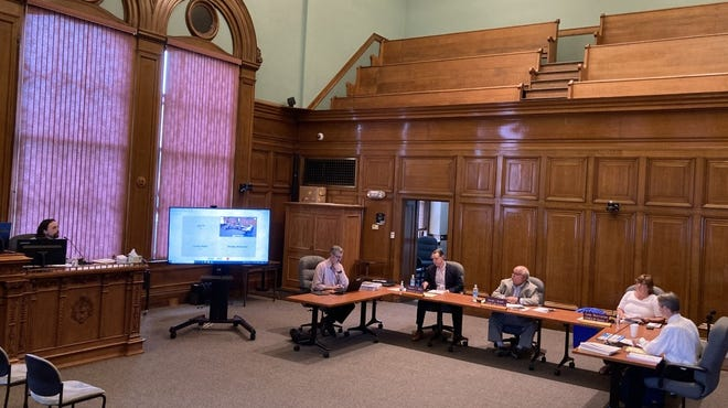 The City Council's Public Works Committee Monday held the first in-person public meeting at City Hall since the start of the COVID-19 pandemic in March 2020.