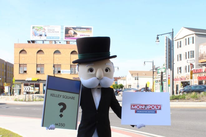 From Polar Park to Piedmont Street, Worcester residents are being asked to ponder their favorite places for a spot on a custom Monopoly game.