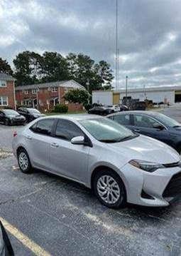 Have you seen this vehicle? Police found the body of Jarrade Walker, 32, in the backseat Tuesday and are looking for witnesses.