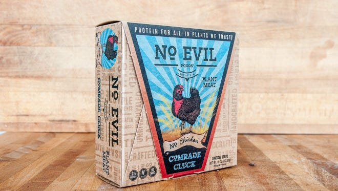 No Evil Foods in Weaverville laid off all of their production workers June 11 in preparation for a co-manufacturing move.
