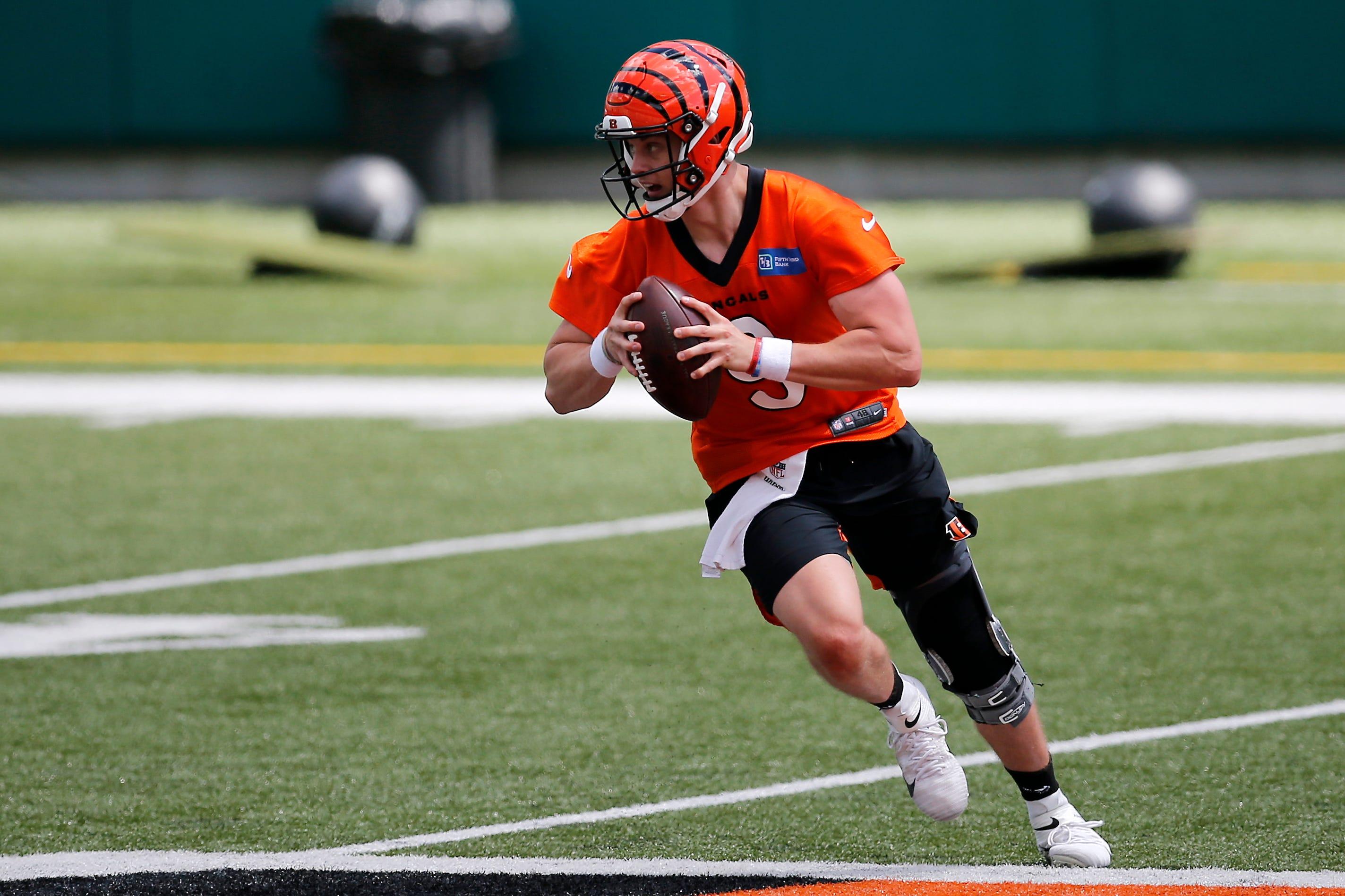Bengals QB Joe Burrow confident he'll be ready for comeback at start of 2021 NFL season