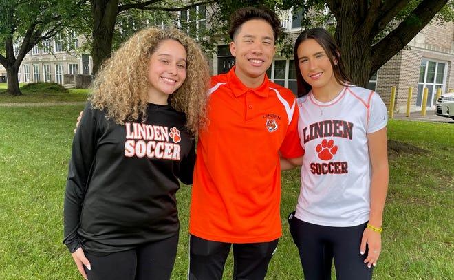 Linden High School seniors Annika Labrador, Landy Garcia and Mackenzie Barrett have been honored as Scholar Athletes of the Year.