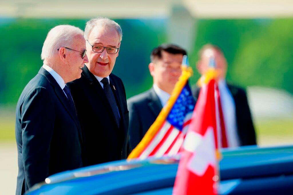 Buoyed by allied summits, Biden ready to take on Putin 2