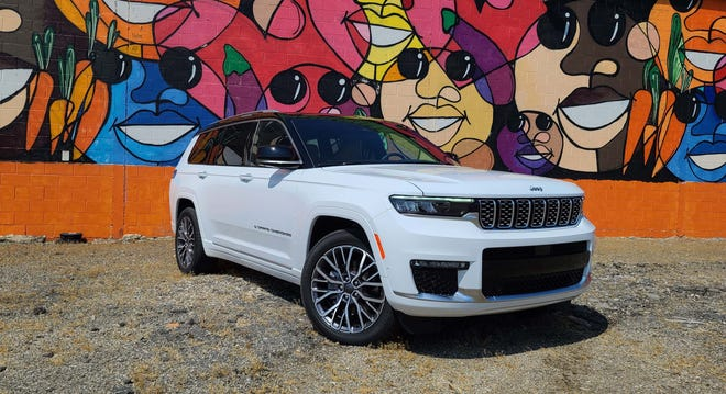 The 2021 Jeep Grand Cherokee L is the GC badge's first three-row SUV.