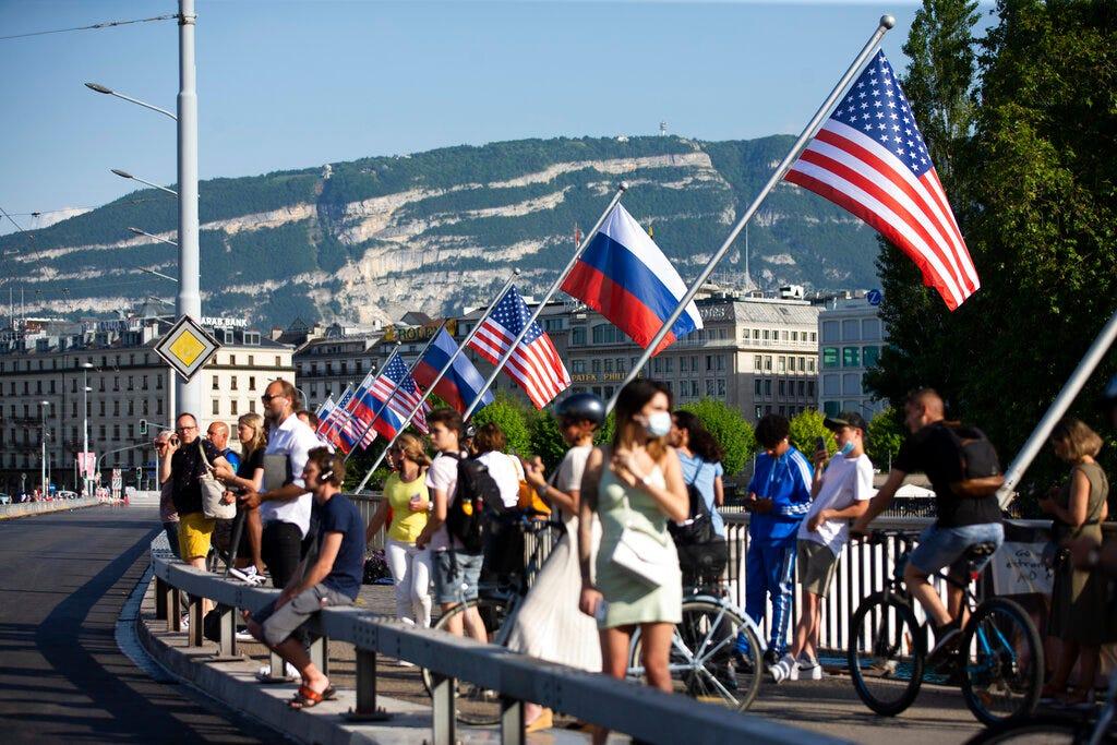 Biden arrives in Geneva for highly-anticipated Putin meeting 2