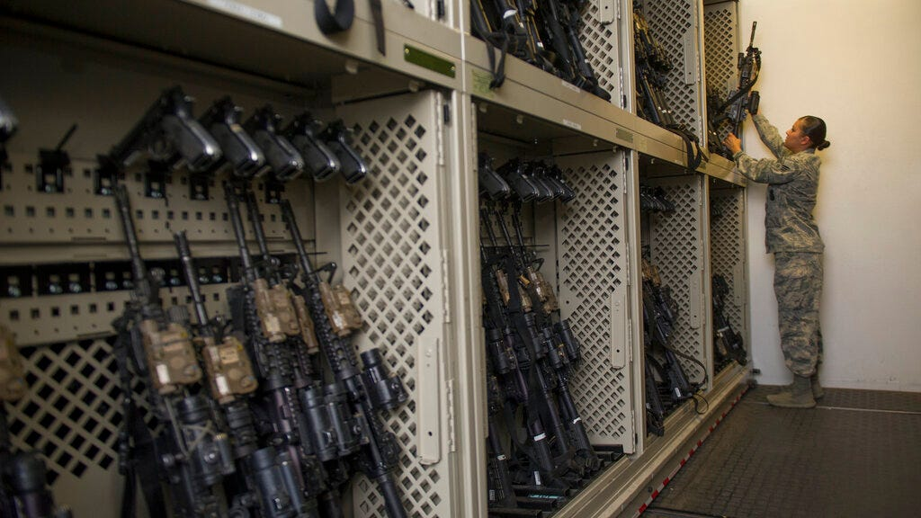 Stolen Army assault rifles keep showing up in California 2