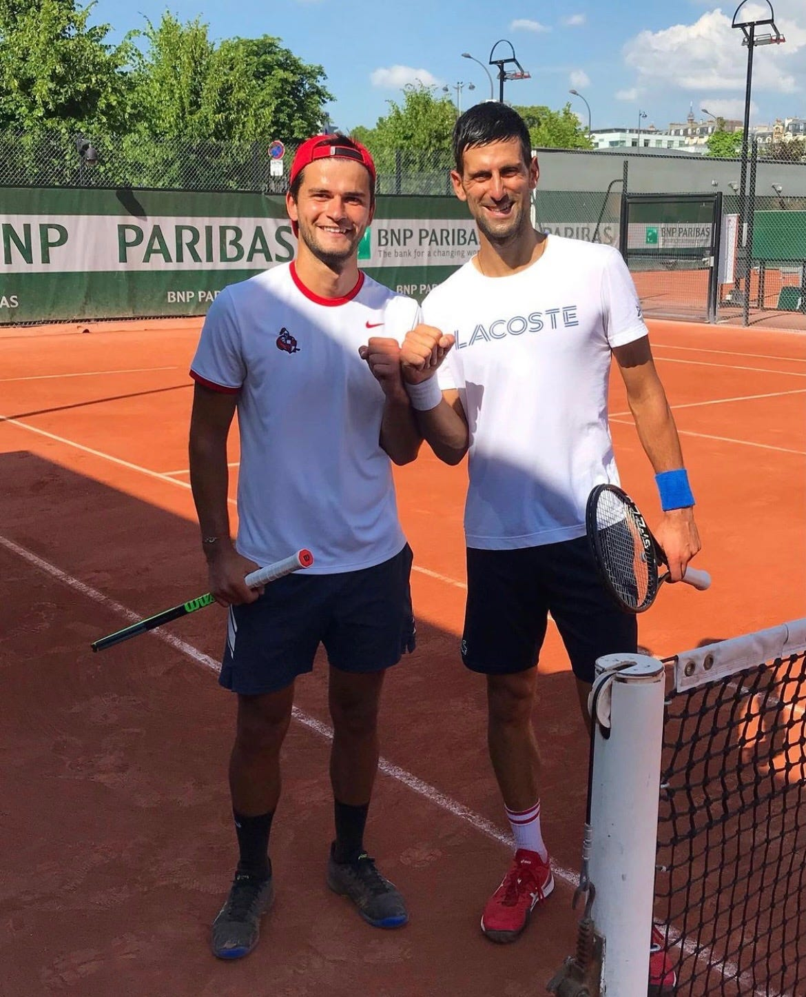 Meet the Mississippi college student who helped Novak Djokovic defeat Rafael Nadal in French Open thriller