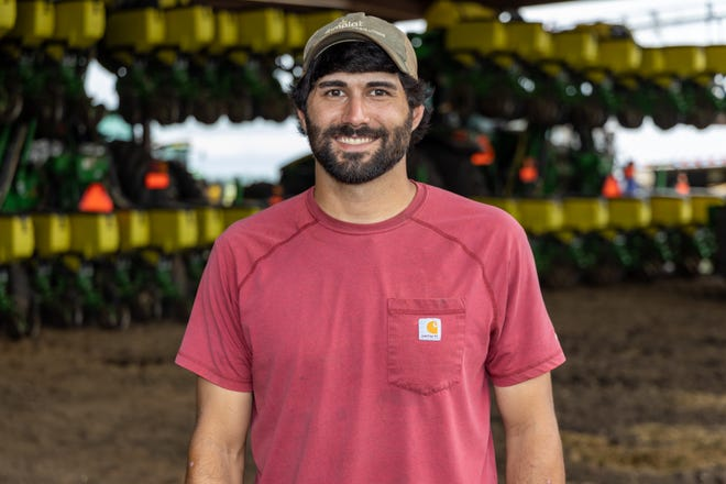 Matt Dennis, a third-generation producer, has been named Louisiana's top young farmer of 2021 by the Louisiana Farm Bureau Federation.