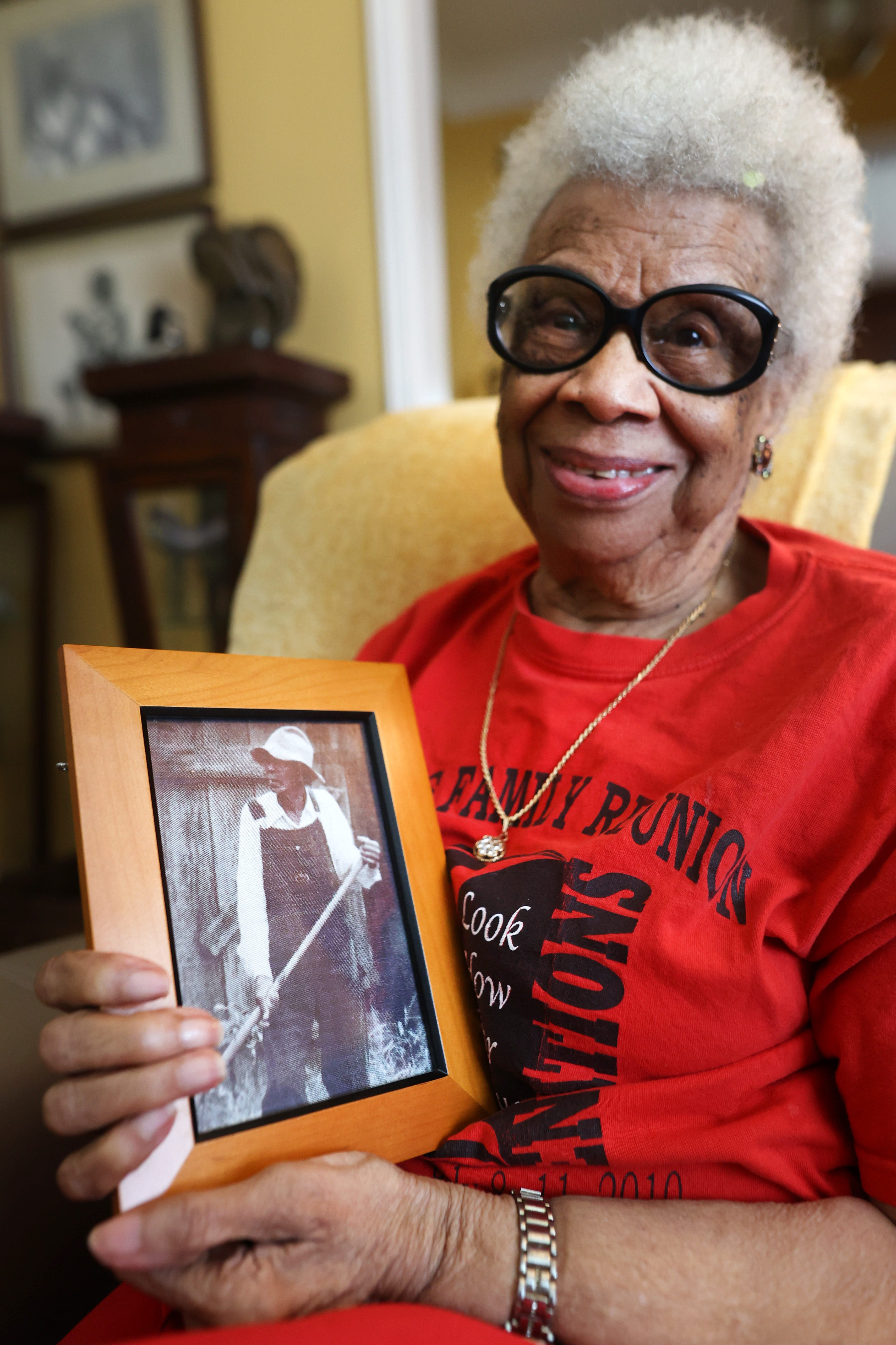 My grandmother was a slave cook : 99-year-old Tennessee matriarch shares memories of not-so-distant past