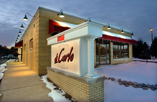 Trattoria di Carlo, 8469 S. Howell Ave, Oak Creek, closed abruptly after 20 years in business. The restaurant was known for its signature pizzas.