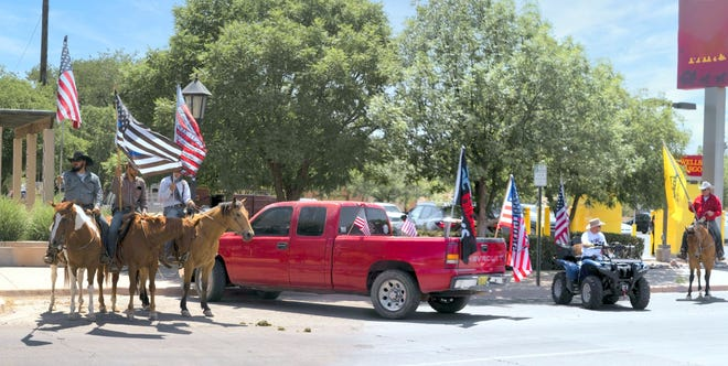 Flag Day was celebrated locally on Saturday, June 14, 2021