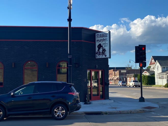 Mabel Murphy's, 701 N. Main Street, reopened in a newly-built establishment but with the original sign.