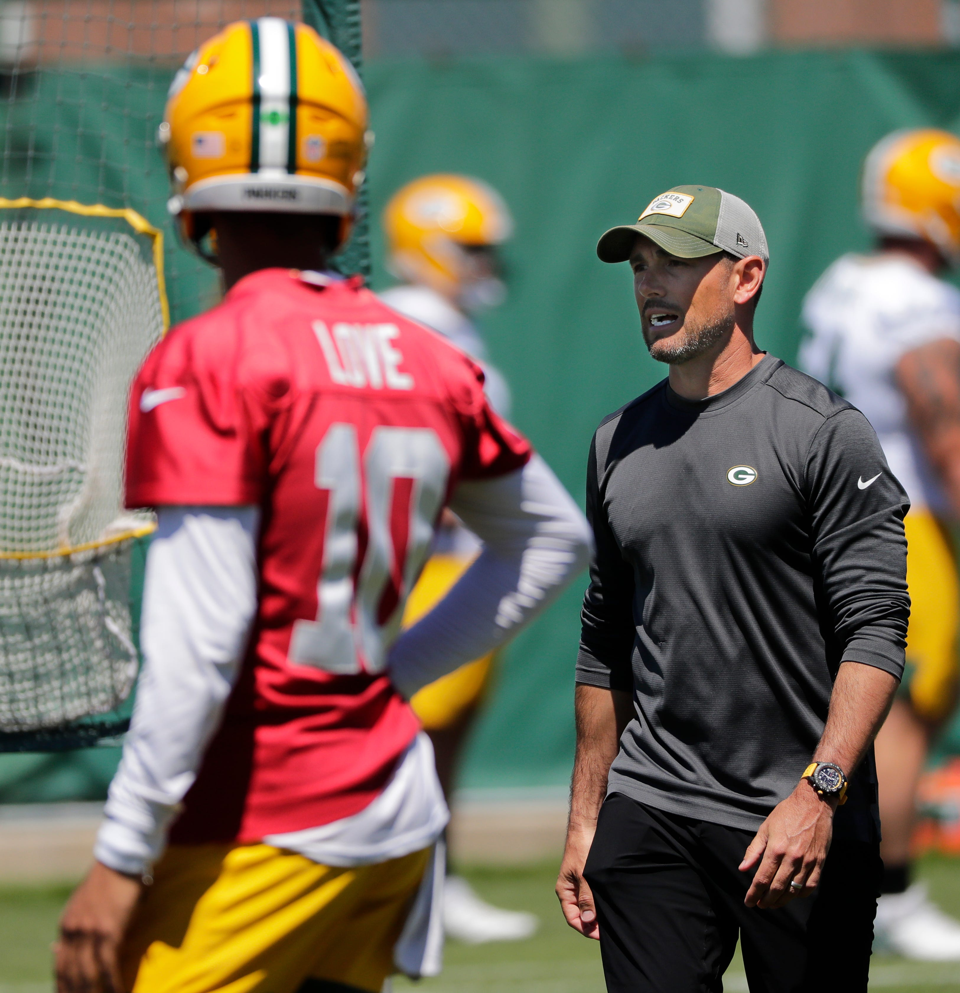 'We have one plan:' Packers coach Matt LaFleur prepared for training camp, with or without Aaron Rodgers