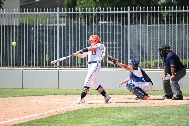 Former Golden West High School standout and COS Giant Audra Pratt was named the Central Valley Conference's softball player of the year.