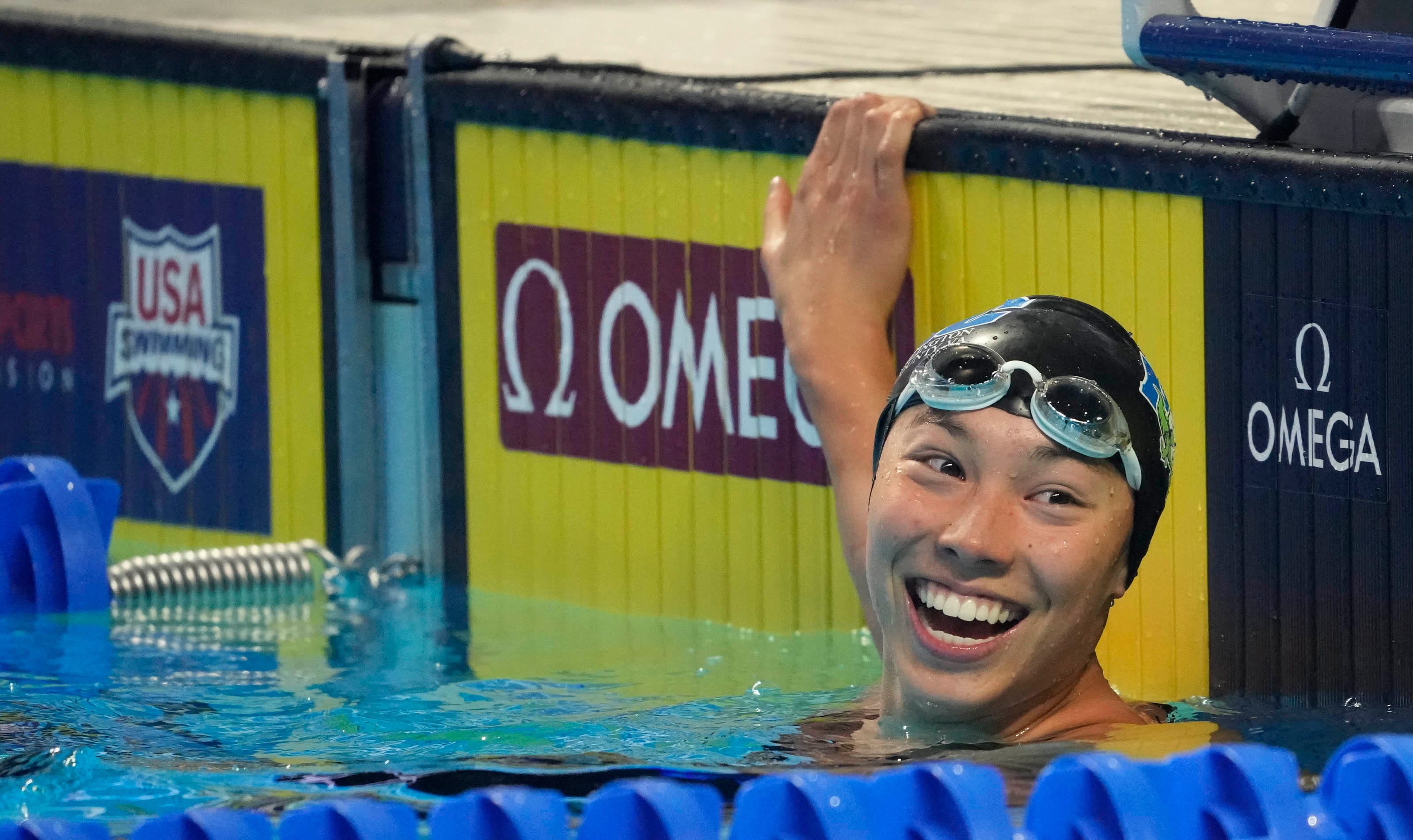 Torri Huske breaks her American record in butterfly to qualify for Tokyo Olympics