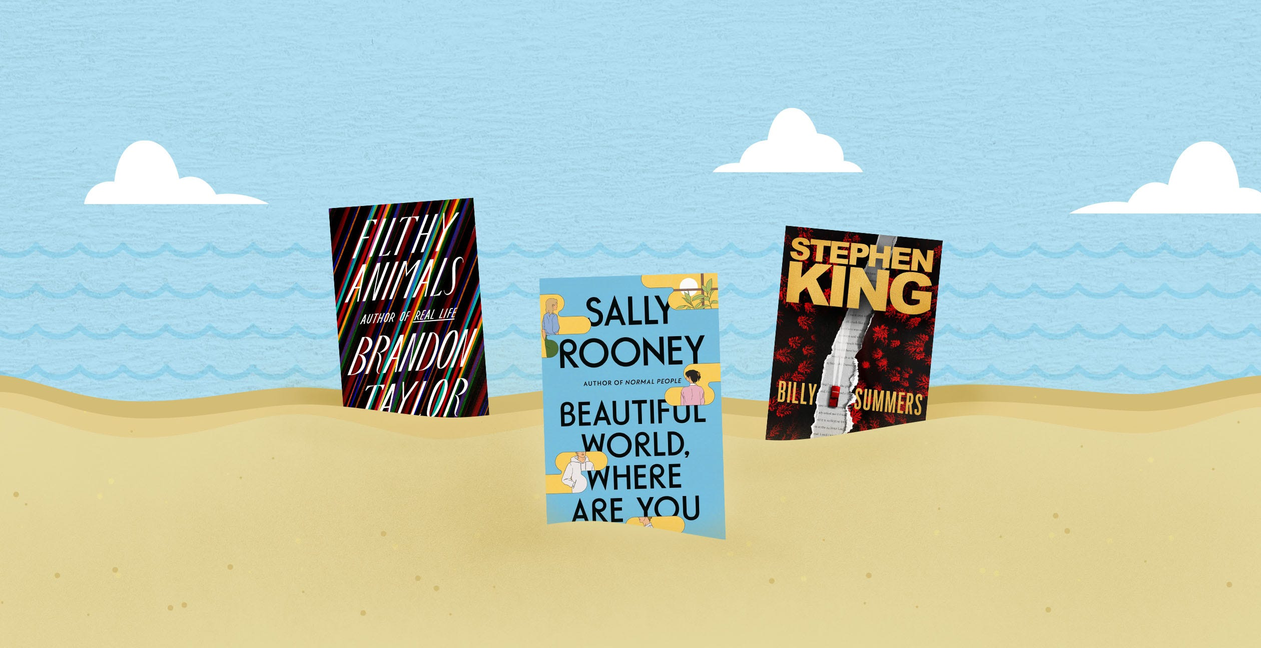 Sally Rooney, Stephen King, Brandon Taylor and more of summer s hottest books