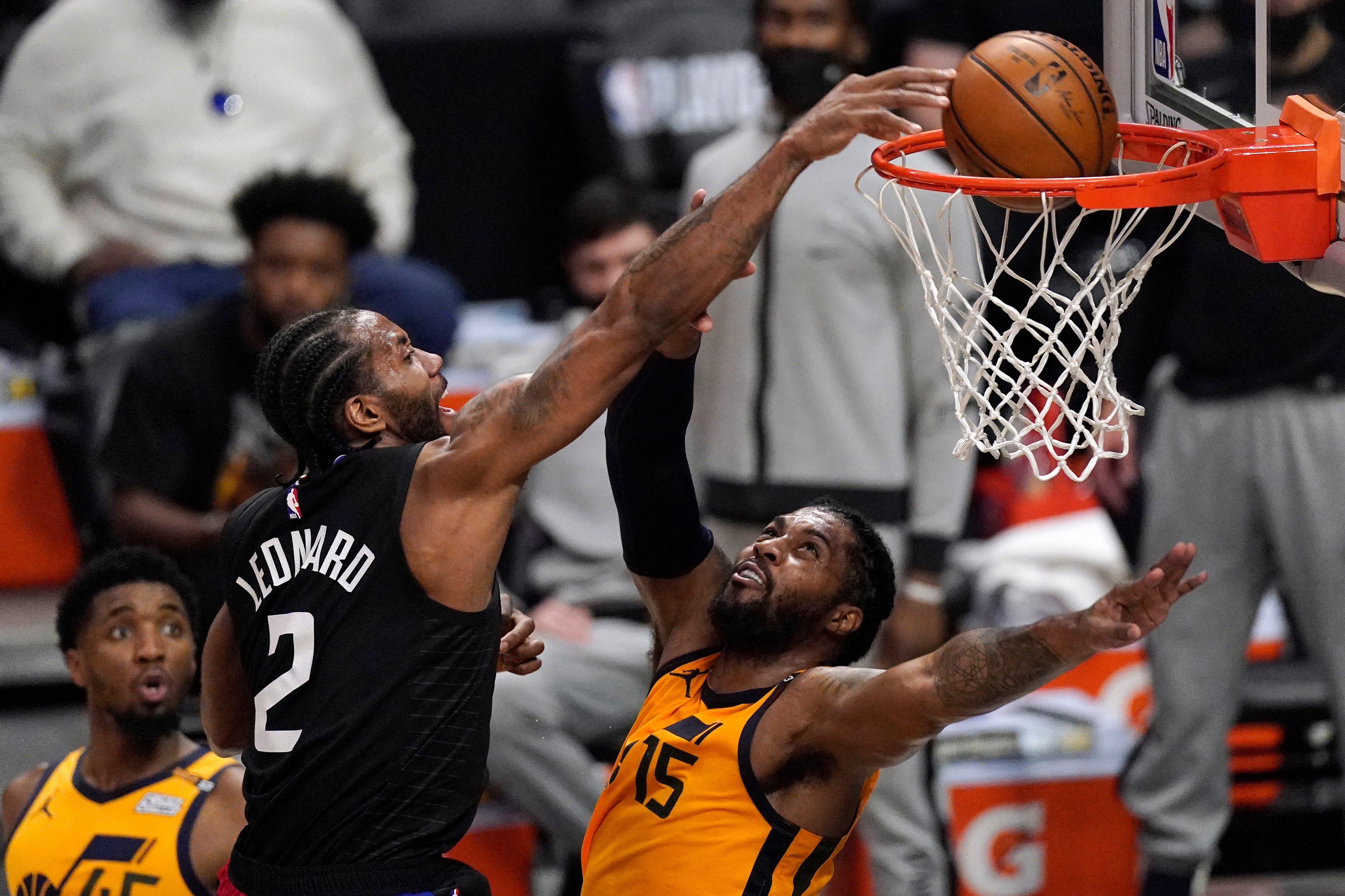 Kawhi Leonard's dunk captures Clippers' Game 4 dominance vs. Jazz