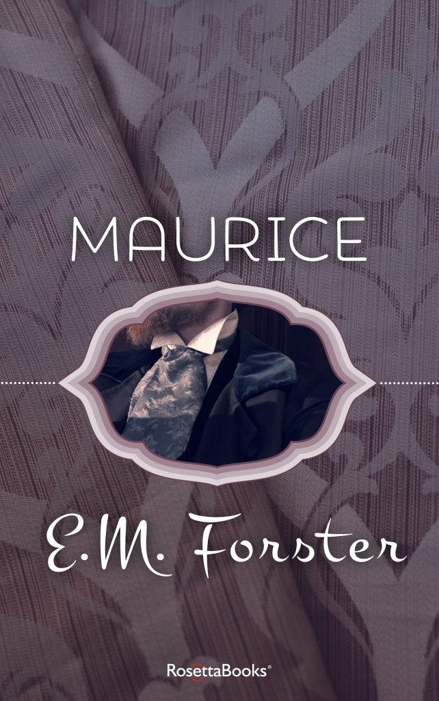 """""""Maurice,"""" by E.M. Forster"""