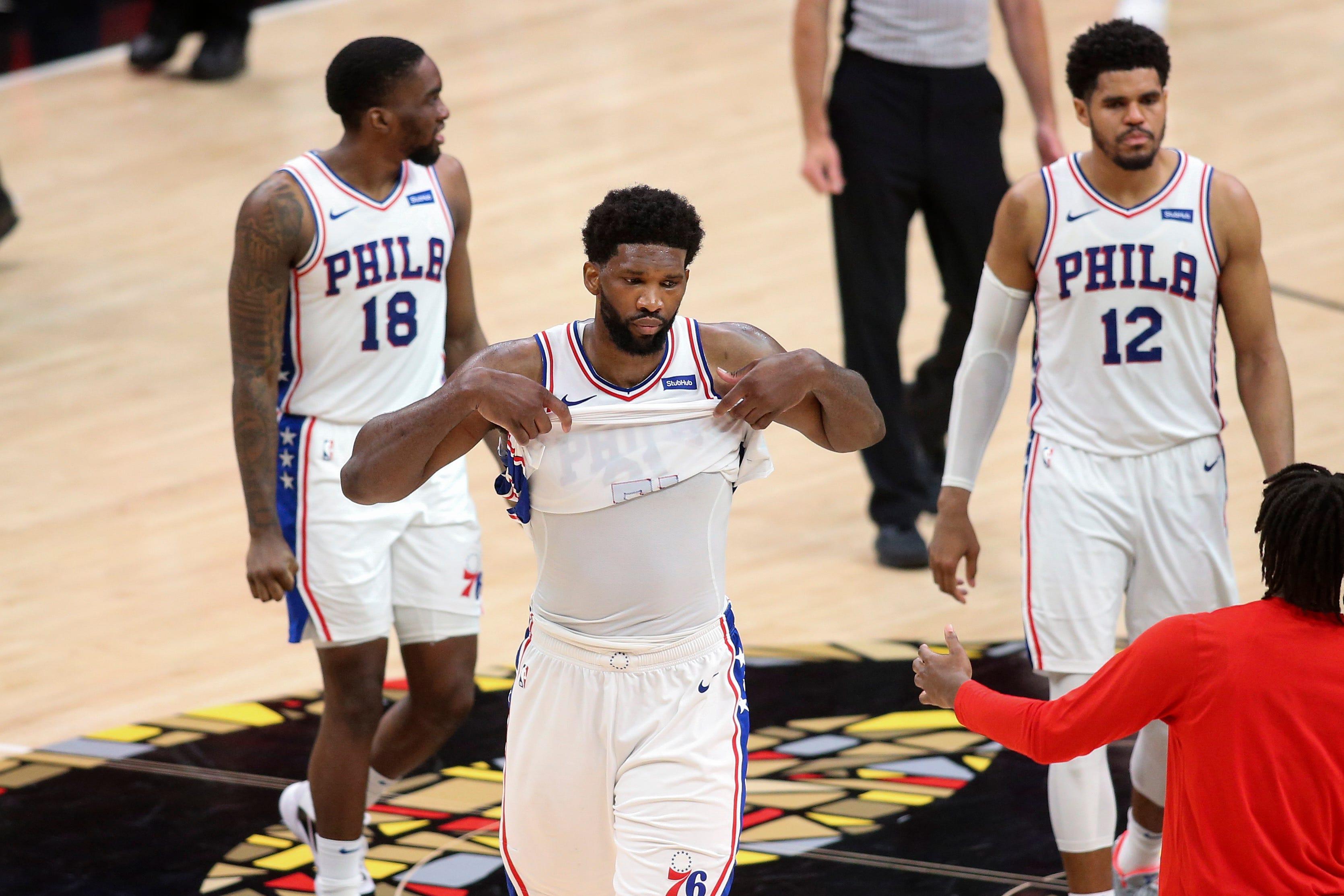 Opinion: Philadelphia 76ers' inability to put away Game 4 breathes life into upstart Atlanta Hawks