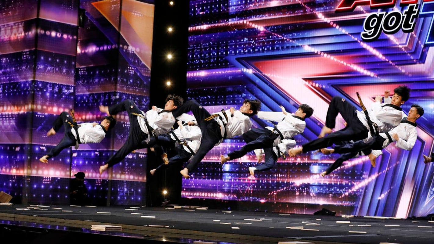 'AGT': Simon Cowell dubs this Olympic-worthy World Taekwondo act the best he has ever seen
