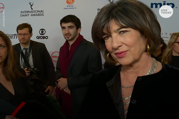 Award winning journalist Christiane Amanpour shares cancer diagnosis