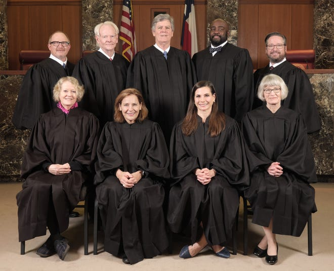 Judges on the Texas Court of Criminal Appeals.