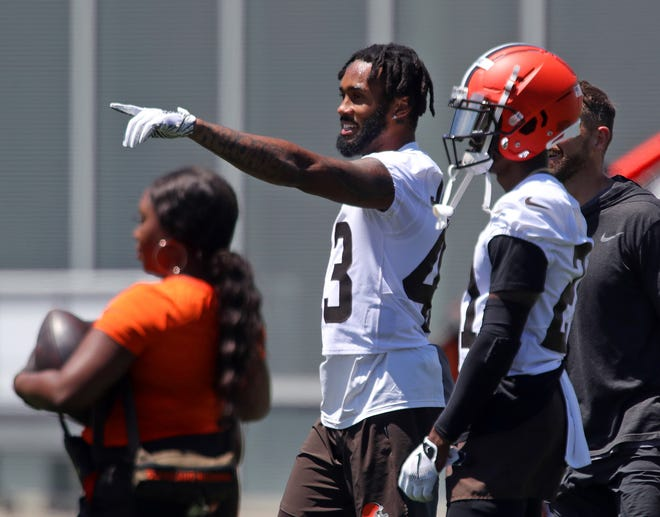 """Browns safety John Johnson III began studying immediately upon arrival to Cleveland and has declared the AFC North as """"real pro football."""""""