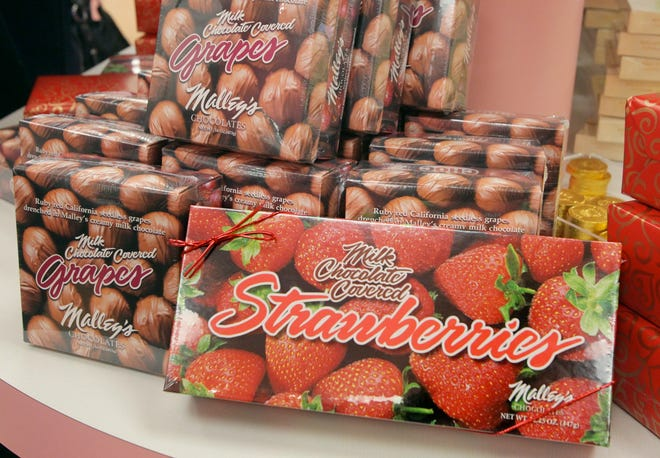 Malley's Chocolate's, well-known for its chocolate covered fruits and other treats, is reportedly requiring employees to be vaccinated.