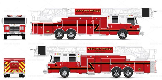 Anna is making preparations for its new fire truck.